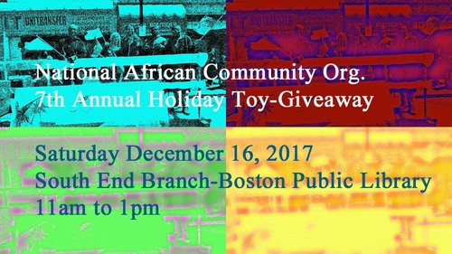 National African Community Organization 7th Annual Toy Give Away